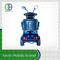 Four-Wheel Electric Scooter With Seat For Adults