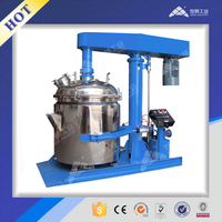 Aliphatic polyurethane paint high speed dissolver mixer