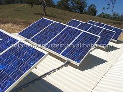 High efficiency 10000 watt off grid solar system for house