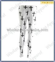 Women's fashion Printed pants Leggings