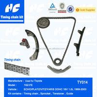 Timing chain kit used for Toyota 1SZ-FE Echo/Platz/Vitz/Yaris Dohc 16V 1.0L 1999-2003
