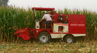Best price and most popular corn combine harvester
