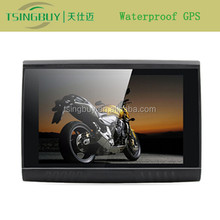 Best and cheap price GPS navigation for motorcycle with 5 inch touch screen 8G memory DDR128MB