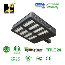 High power 1000 watt HID shoebox lamp replacement LED shoebox lights 300W with ETL and DLC