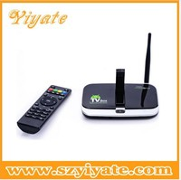 Factory price! Android 4.2.2 quad core ram 2gb rom 16gb tv box allwinner a13 cortex a9 1.5ghz with webcam and bluetooth tv box