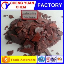 test report of sodium sulphide 60% 1500ppm 150ppm producing machine