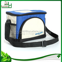 wholesale promotional outdoor insulated ice cooler bag / nylon polyester 600D picnic lunch cooler bag / can wine cooler bag