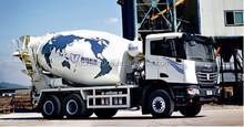 Yc C & C 380HP 6 X 4 ciment camion malaxeur prix