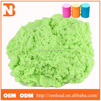 New listed Non-toxic safety ASTM approval DIY colorful play sand for kids