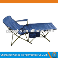 CB-145 Portable Folding Beach Lounge/Folding Rest chair with Cup Holder