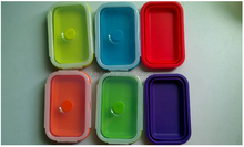small silicone containers / 1-3 ml Food grade silicone jars dab wax container / butane hash oil silicone container