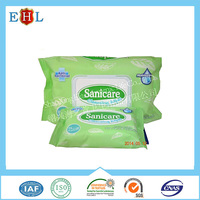 China Manufacturer Competitive price Natural wet facial tissue