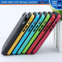 Colorful Bumper Case For IPhone 5 TPU+PC
