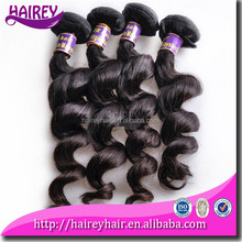 Better sleekness, tangle/shedding free cheap human hair extension on sale