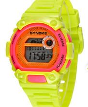 30M Waterproof Multifunctional Sports Colorful Background light EL digital Wrist Watch for Boys Kids Girls