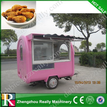 Mobile food cart for snack coffee ice cream hot dog / mobile food truck / mobile food cart for sale