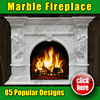 85 kinds of Elegant Indoor Marble French Fireplaces Mantels for indoor decoration