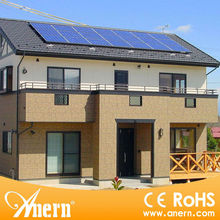high-tech home use solar PV system components like battery cables cell and inverter