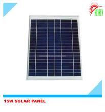 Best quality 15 watt 18 volt polycryrstalline solar panel