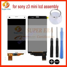 For Sony Xperia Z3 Mini Compact D5803 D5833 LCD Touch Screen W/ Digitizer White black