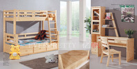 Hot Sale Cheap Solid Wooden Bunk Bed
