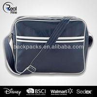 navy classics pvc shoulder bag
