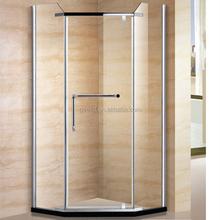 Custom Made 8mm Frameless Hinge Shower Room #S6027
