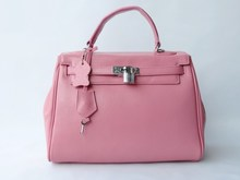 2014 new products whosales designer brand names fashion leather hand bag for women, woman hand bag 2014