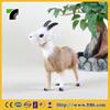 miniature sheep figurine plush animal mannequin small size