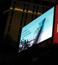 p4.81 Full Color Tube Chip Color and Video Display Function outdoor LED video wall screens
