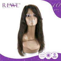 Direct Factory Price Real Human Hair Lace Full Ponytail High Inflatable Wig Woman With Natural Parts