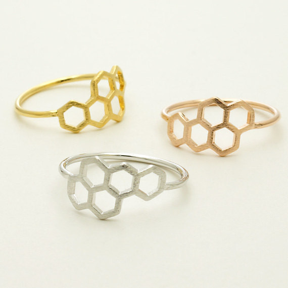 Triangle and Circle Ring
