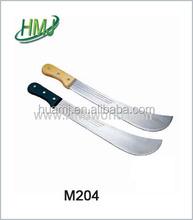 Granja aplicación cuchillo de caña de machete