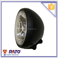 Cheap Round headlight with Philip bulb for cruiser 200cc RT200-4motorcycle