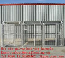 China supplier portable metal panel dog kennels outdoor used dog kennels hot dip galvanized dog kennels
