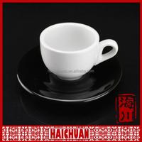Fine ceramic finger cupwith saucer factories in guangzhou