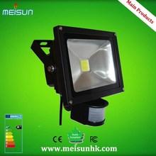 24V 110V 220V 230V 240V CE&RoHS Certificate high powerlight lamp pir auto sensor motion detector sensor 50w pir sensor led flood