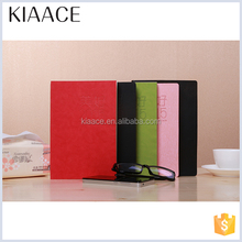 Different size well-designed recycle tree design colorful diary exercise organizer ecological notebook