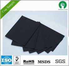 Core black card board/ Black board paper for photo album
