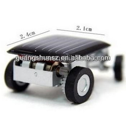 Small Car with Solar Energy, The Smalleat car in the world