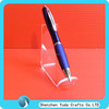 pmma holder display stand for pens pencils slant triangle single acrylic pen holder pen display holder stand