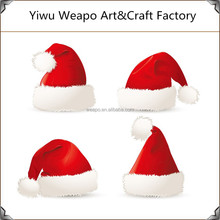 2015 New Arrival Hot Sale Christmas Hat Design For Baby Red Christmas Hat