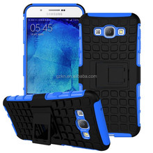Tough double layers plastic TPU hybrid case for Samsung Galaxy A8 protective shell