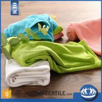 solid color cotton microfiber hand towel with high quality