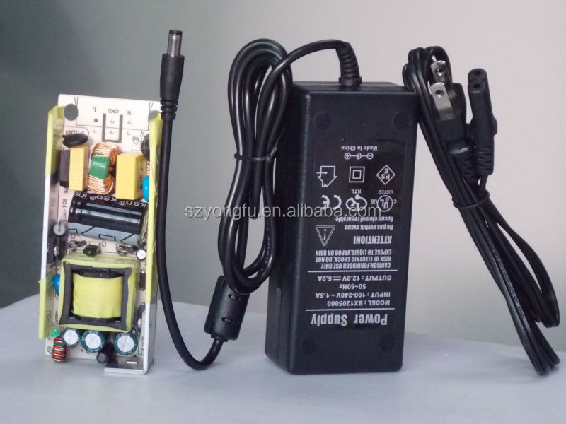 high voltage switching power supply 15v 4a with 2years warranty