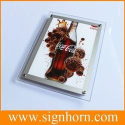 high brightness rectangle edge light A4 A3 A2 A1 acrylic photo frame