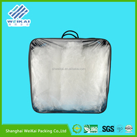 2015 new product PVC waterproof bedding bag, clear plastic bedding bag WKP5319