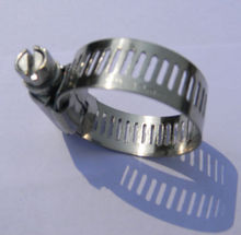 """high pressure in stock 5/16"""" bandwidth stainless steel quick lock hose clamp made in china"""