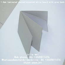 top white 850g duplex board back grey Cardboard Paper Manufacturer White Cake Board Rounded Shape 3.0MM Cake Pad