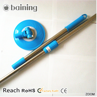 High-quality extensible mop pole for magic mop
